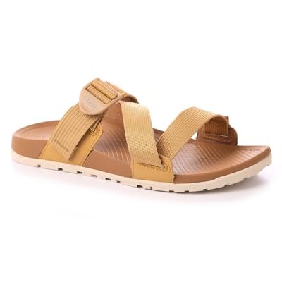美國Chaco。女LOWDOWN SLIDE輕涼鞋CH-LSW01HG02 (咖哩黃)