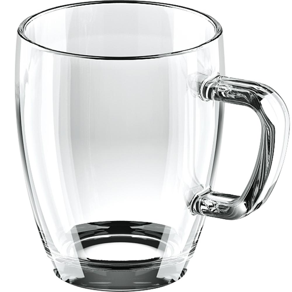 《TESCOMA》晶透玻璃馬克杯(400ml)