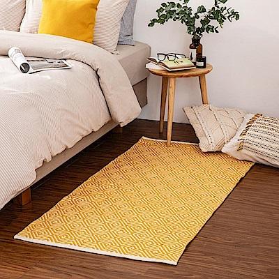 哈里印度手工地毯-黃80x150cm (H014266680)