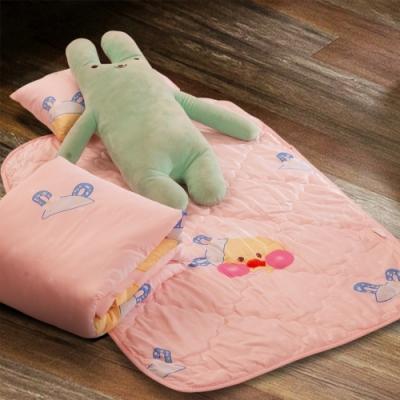 Carolan-小鴨ㄚ 3M專利+頂級天絲-兒童專用睡墊三件式