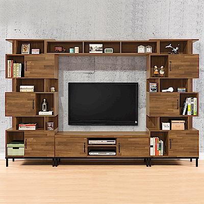 時尚屋  伊萊10.3尺電視櫃組 寬309.2x深40x高196cm