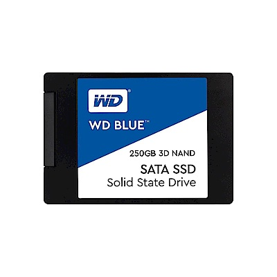 WD 威騰 250G 2.5吋 3D NAND SSD固態硬碟《藍標》