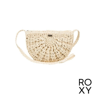 【ROXY】CHIPS AND GUACAMOLE 側背包 米黃