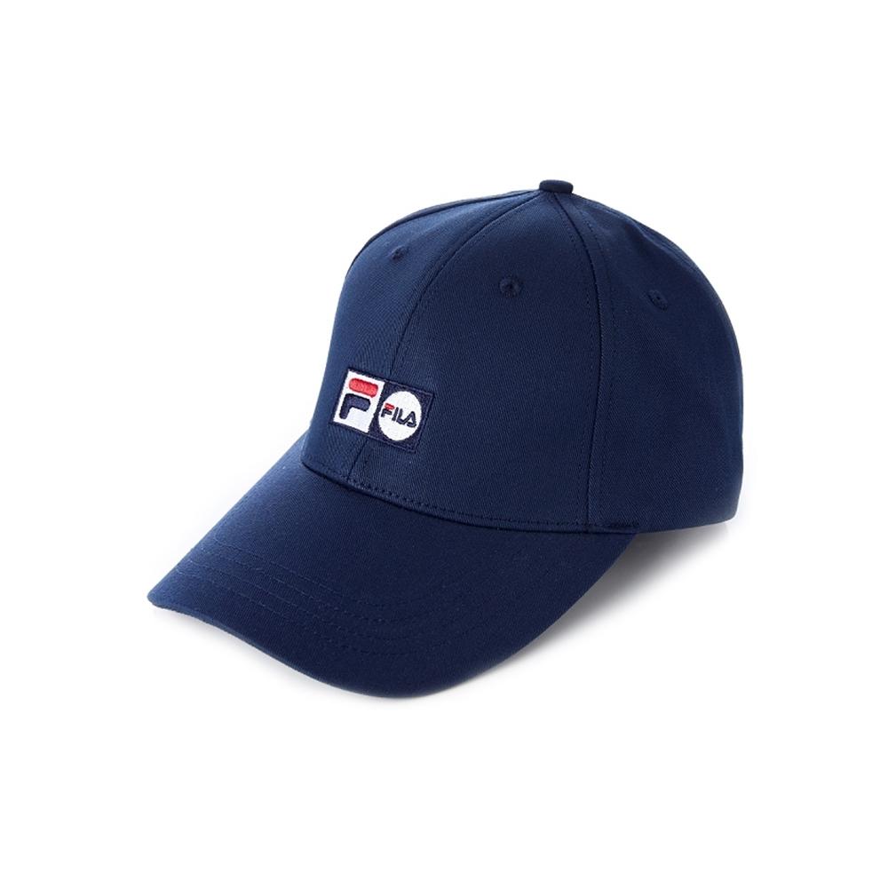 FILA 時尚LOGO帽-丈青 HTV-1002-NV