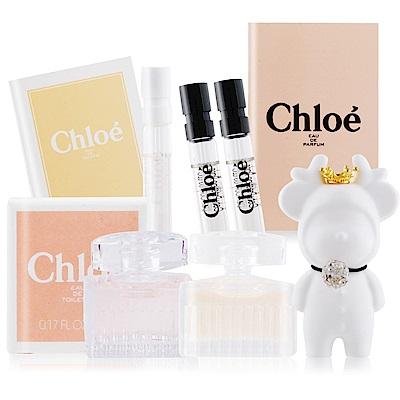Chloe 同名&白玫瑰經典隨身組5MLX2+1.2mlX3+擴香石