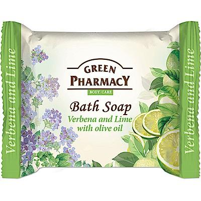 Green Pharmacy 草本肌曜 萊姆&馬鞭草清新橄欖皂 100g