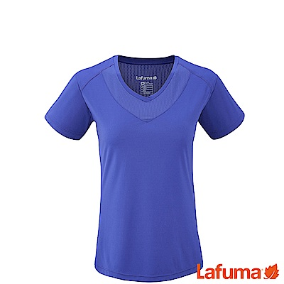 LAFUMA-女抗UV TRACK短袖排汗衣-LFV113908411-藍
