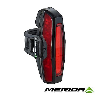 《MERIDA》美利達 USB充電後燈 黑 2128001986
