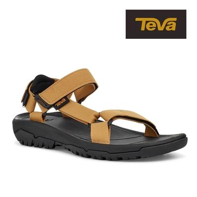 【TEVA】原廠貨 男 Hurricane XLT2 機能運動涼鞋/雨鞋/水鞋(芥末黃-TV1019234HNYM)