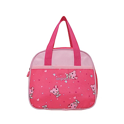 【IMPACT】粉紅熊熊午餐袋-粉紅色 IM00N05PK