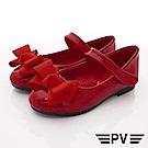 PV日系私藏 緞帶高質感公主鞋款 8665紅(中小童段)