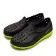GOODYEAR 固特異 排水透氣輕便水陸多功能休閒洞洞鞋 黑綠 03670 product thumbnail 1