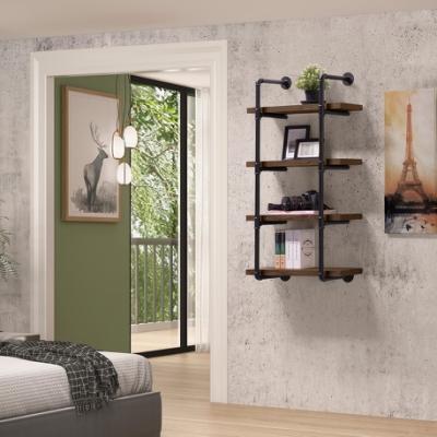 美傢工業風focus水管四層壁架/DIY自行組合產品
