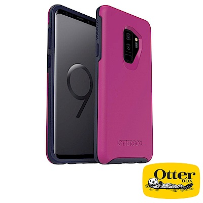 OtterBox Galaxy S9+炫彩幾何保護殼-紫色