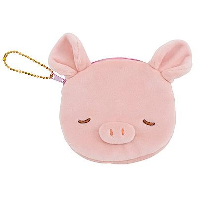 NEMU NEMU  粉紅豬面紙萬用包
