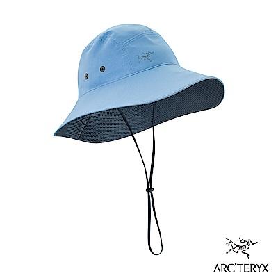 Arcteryx 始祖鳥 抗UV 遮陽帽 豪雨紫/夜影灰