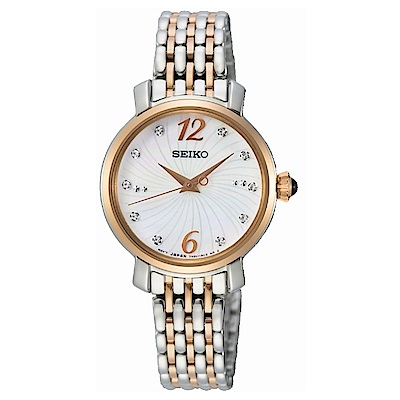 SEIKO 點綴優雅時光時尚腕錶SPZ524P1/7N01-0JK0P