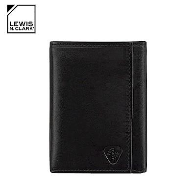 Lewis N. Clark RFID屏蔽小羊皮三折皮夾 930 / 黑色