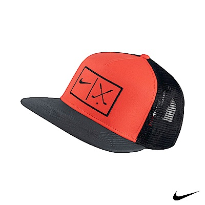 NIKE GOLF 男運動高爾夫球網帽 紅黑 832708-852