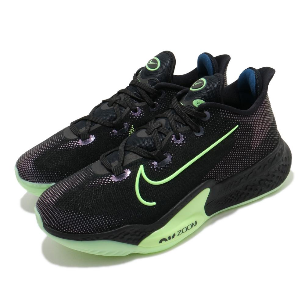 Nike 籃球鞋 Air Zoom BB NXT 男鞋 氣墊 避震 包覆 支撐 運動 球鞋 黑 綠 CK5708001