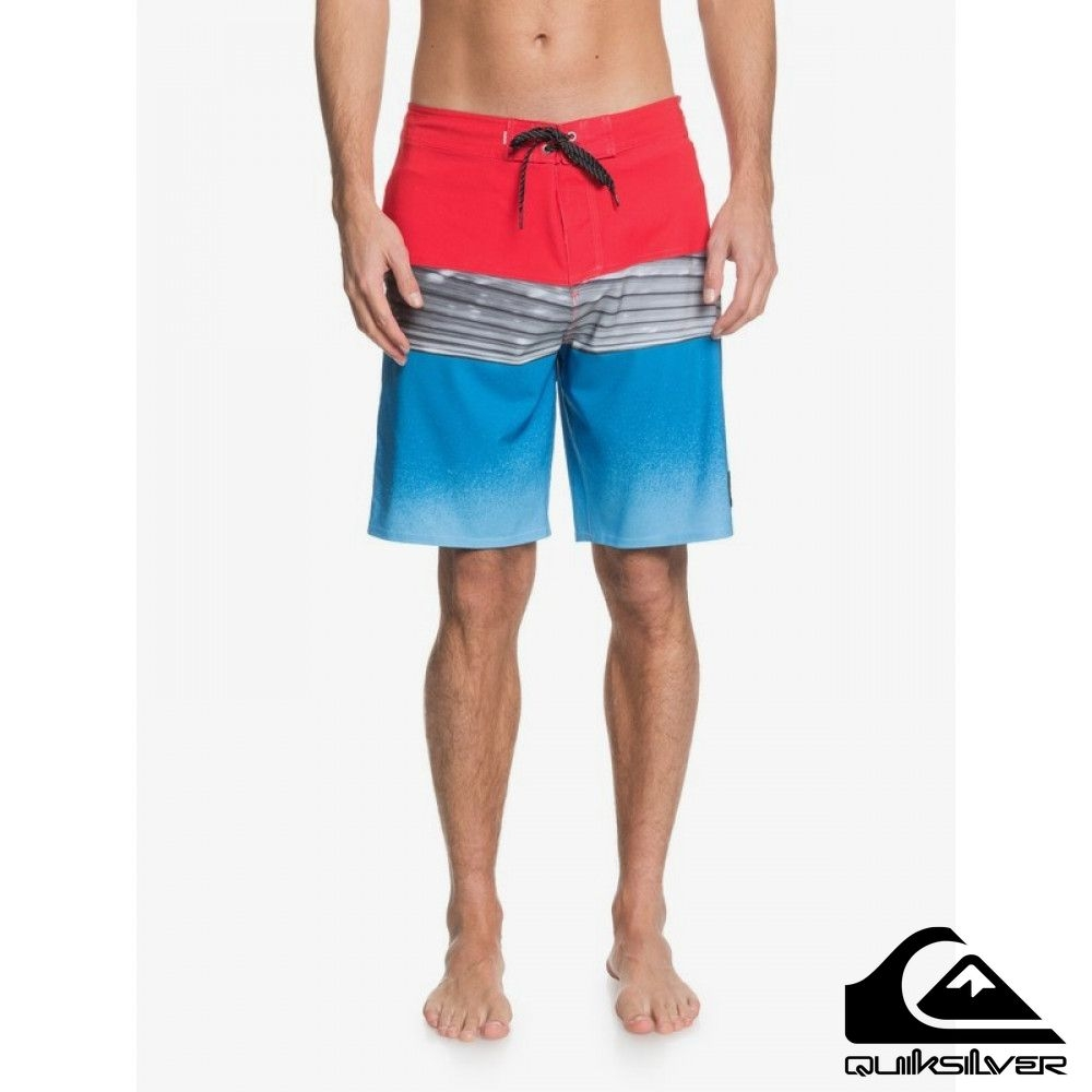 【 QUIKSILVER】HIGHLINE HOLD DOWN 20 衝浪褲 紅色