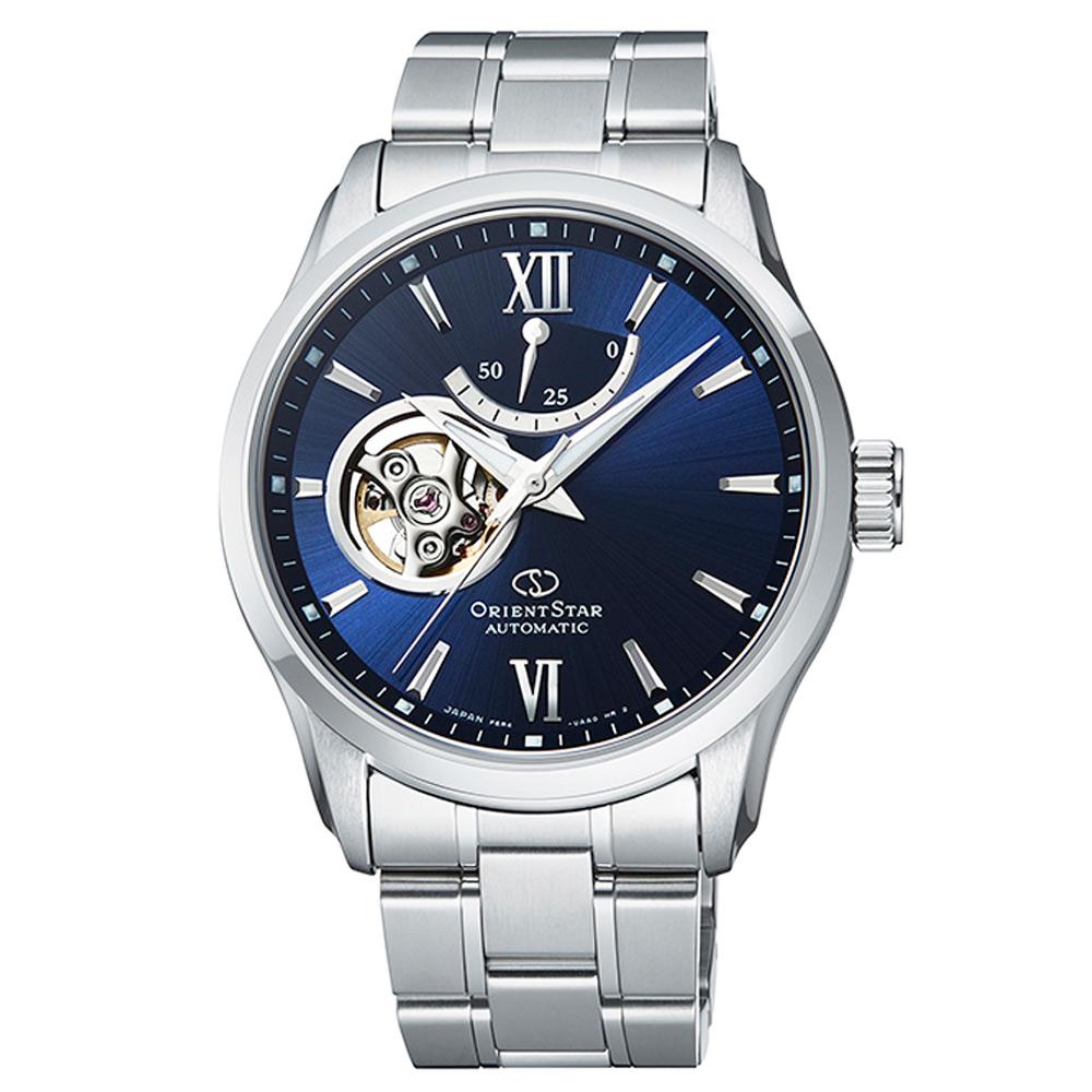 ORIENT STAR 東方之星機械錶手錶 RE-AT0001L-藍X銀/39mm