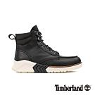 Timberland 男款地球英雄黑色皮革運動靴 A27W1