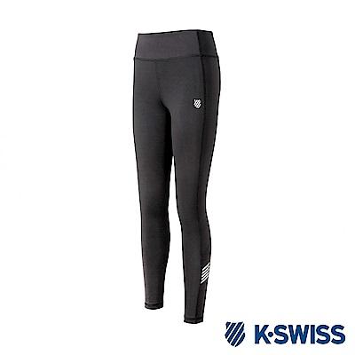 K-SWISS PF Leggings運動內搭褲-女-黑