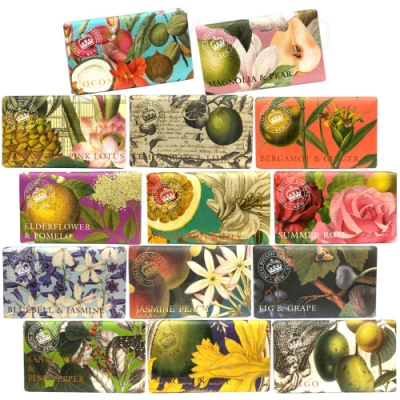 KEW GARDENS 英國皇家植物園 乳木果油香皂(任二件好便宜)240gX2(共十七款)