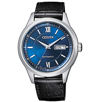 CITIZEN 星辰 簡約風格機械腕錶(NY4050-03L)