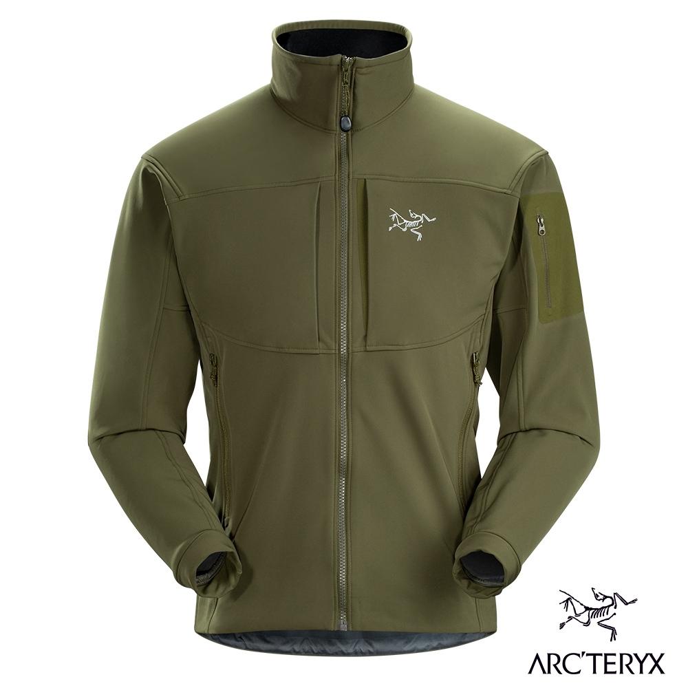 Arcteryx 始祖鳥 男 Gamma MX 抗水抗風 保暖 軟殼外套 叢林綠