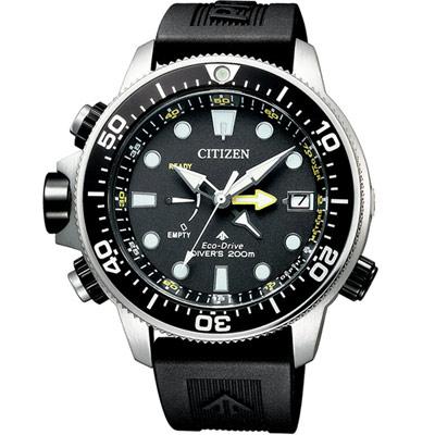 CITIZEN PROMASTER極限深海光動能潛水錶(BN2036-14E)46mm