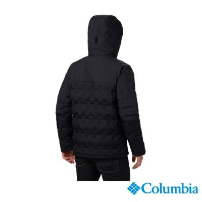 Columbia 哥倫比亞 男款- Omni TECH防水鋁點保暖羽絨外套-黑色
