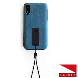 美國 Lander iPhone XR Moab 防摔手機保護殼 - 藍(附手繩)