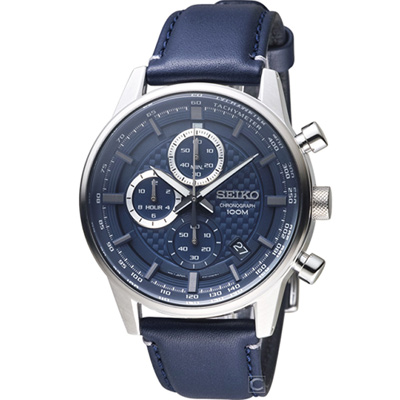 SEIKO 電光之戰計時腕錶(SSB333P1)43mm