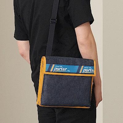 PORTER - 精采生活LOAD實用百搭斜背包 - 深藍