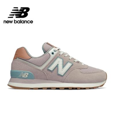 【New Balance】 復古鞋_女性_粉紅_WL574BCN-B楦
