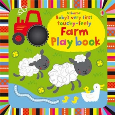 Baby s Very First Touchy-Feely Farm Play Book 農場動物