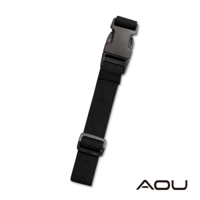 AOU 台灣製造 多用途行李外扣帶旅行省力好幫手 行李掛扣(黑色)66-028D15
