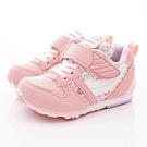 日本月星頂級童鞋 HI系列2E機能款 TW121S28粉花(中小童段)