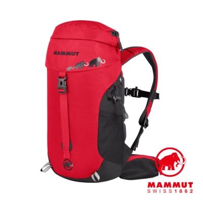 【Mammut 長毛象】First Trion 多用途兒童登山後背包 18L 黑/地獄紅 #2510-03110
