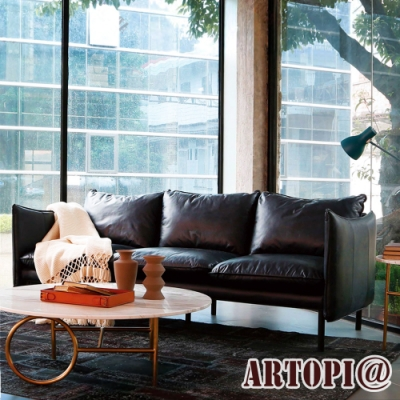 ARTOPI_Toscana托斯卡尼牛皮三人沙發 W238*D97*H80 cm