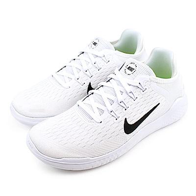 NIKE-FREE RN 2018女跑步鞋-白