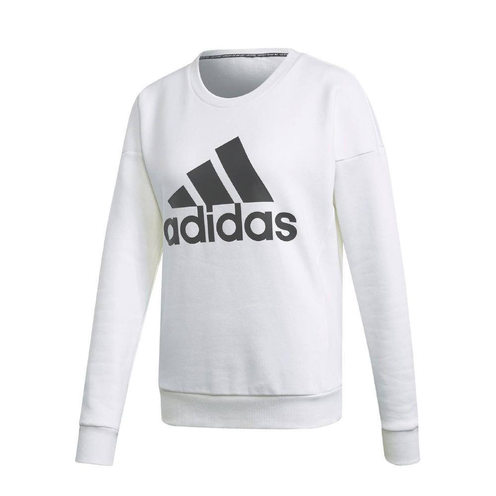 adidas 大學T MH BOS Sweatshirt 女款
