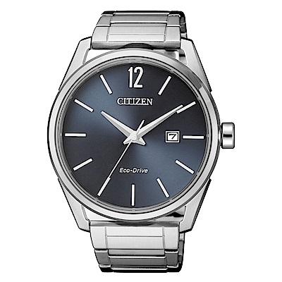 CITIZEN 簡約風格三針光動能時尚腕錶/BM7411-83H