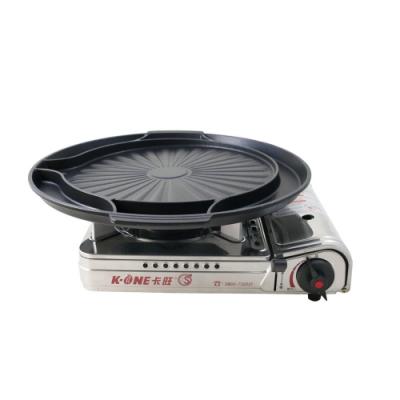 卡旺K1-A003SD攜帶式卡式爐+韓式多功能烤盤ST-1600P