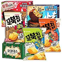 韓國新品零食 任2件結帳再88折 好麗友烏龜餅乾新口味到貨!