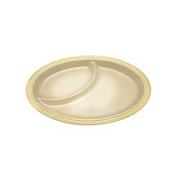 LE CREUSET 瓷器橢圓餐盤(沙丘白)