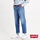 Levis 男款 Stay loose 復古寬鬆版繭型牛仔褲 創新寒麻纖維 褲管收邊裁剪 及踝款 product thumbnail 1