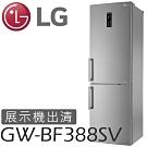 LG 樂金 2門電冰箱 350L 可替換把手 GW-BF388SV 精緻銀 【展示出清】